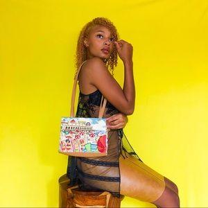 80s Vintage Shoulder Bag